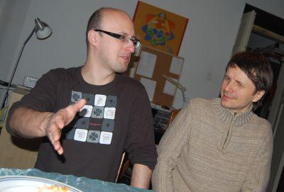 Maciej Wielobób i Piotr Marcinów, joga - wywiad