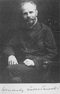 Wincenty Lutosławski joga