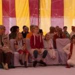 goście na ceremoni sannjasa jogi