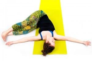 joga - pozycje leżące