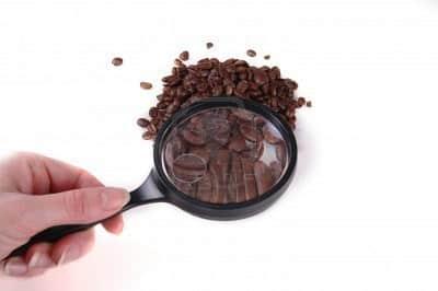 Kawa pod lupą