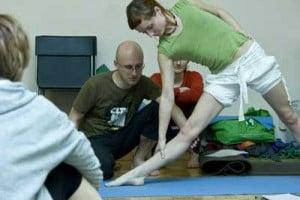 joga na kolana