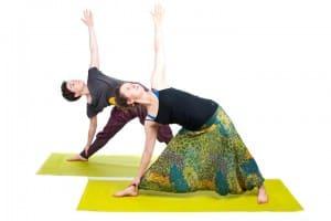 joga - pozycje stojące
