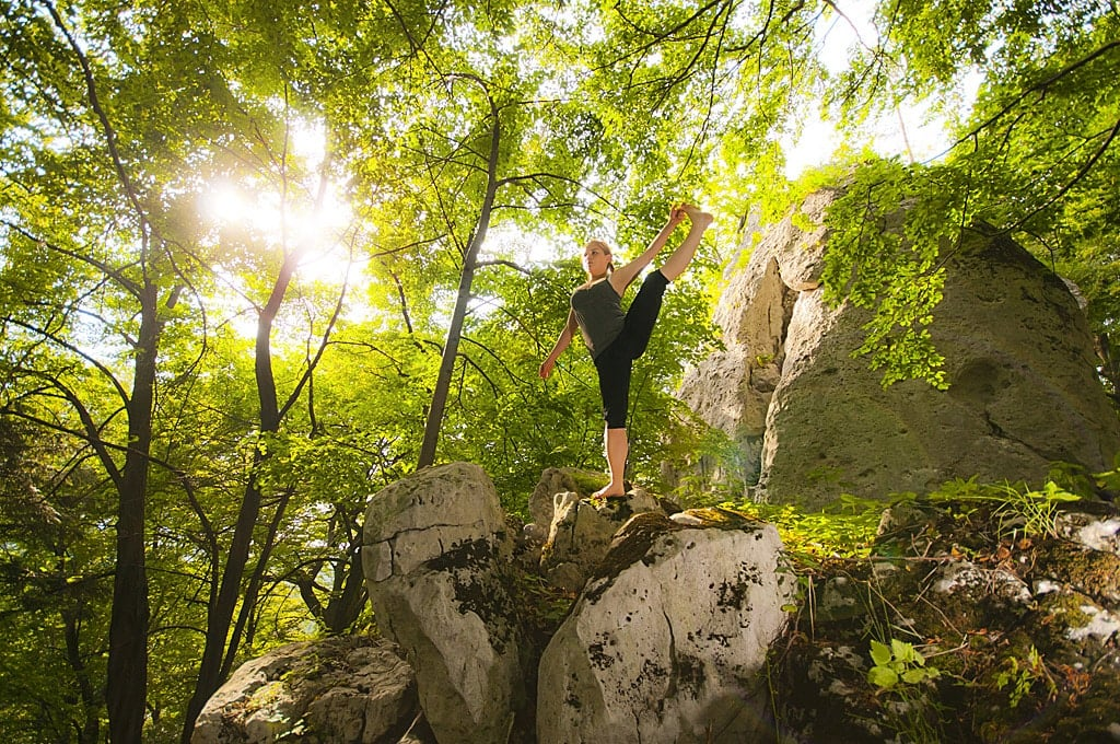 Jogin boso przez świat, czyli kilka słów o świadomości podstawy w praktyce asan