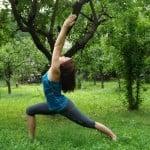 Pozycje jogi – pozycja wojownika I
