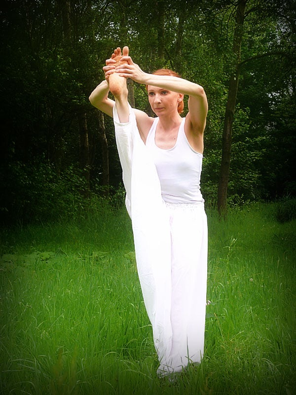 Utrzymywanie równowagi na jednej nodze