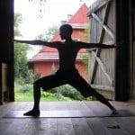 Pozycje jogi – pozycja wojownika II