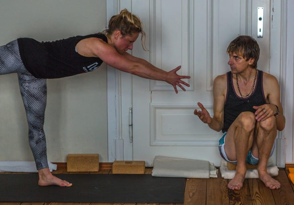Spacer po linie: relacja nauczyciel – uczeń w jodze. David Garrigues