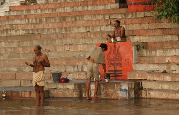 Ganga puja Varanasi