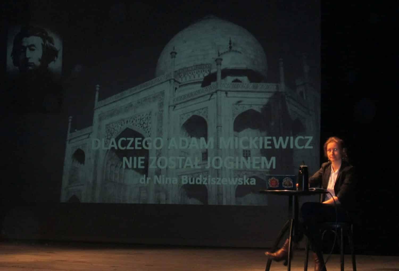 Dlaczego Adam Mickiewicz nie został joginem? Nina Budziszewska