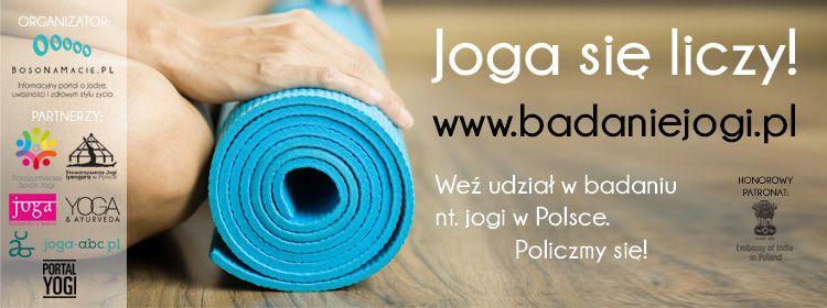 Joga się liczy! Weź udział w badaniu na temat jogi w Polsce.