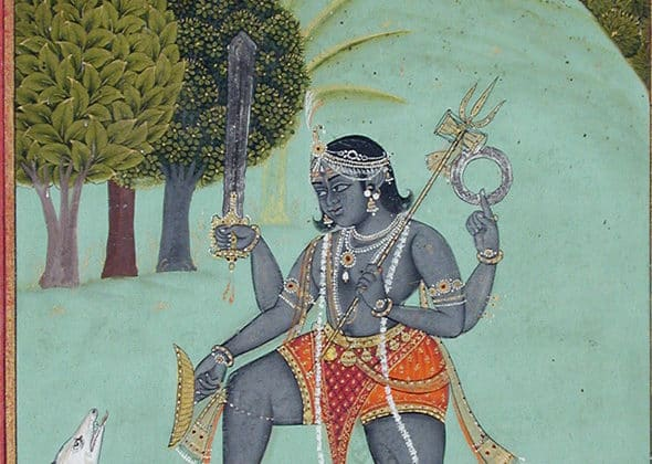 Bhairava i Bhairavi mudra. Patrycja Gawlińska