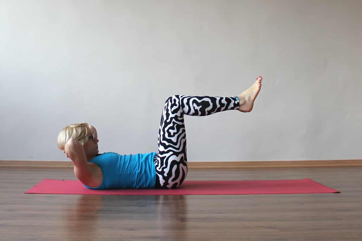 Ćwiczenia wzmacniające brzuch ~Justyna Cilulko-Dołęga