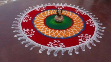 Rangoli – indyjska forma ekspresji