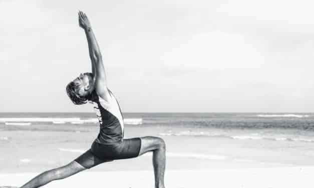 Męska joga. Patrycja Gawlińska