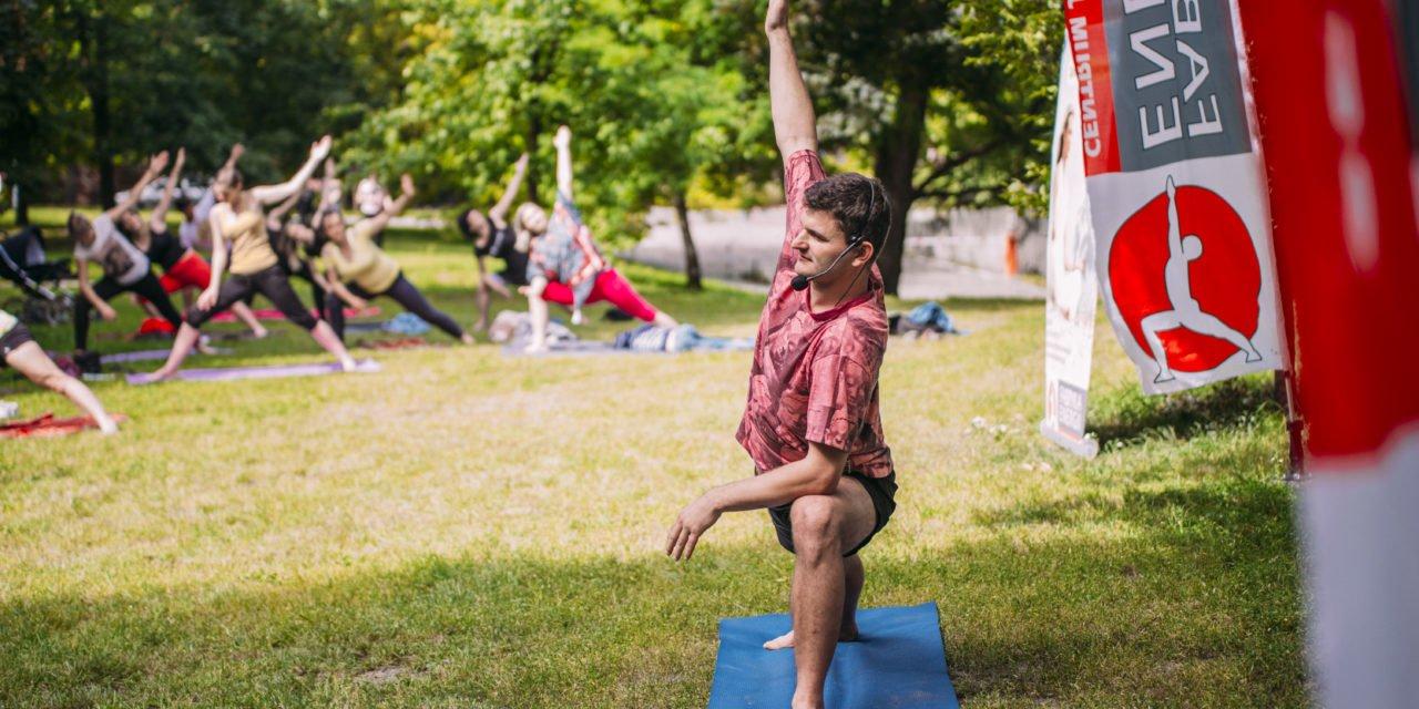 Nasz patronat: joga w Parku we Wrocławiu